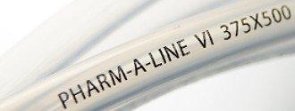 private label brand on plastic tubing
