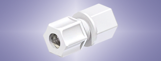 PVDF Compression Fitting to Female National Pipe Thread