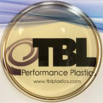 polysulfone view port site glass sanitary tri-clamp